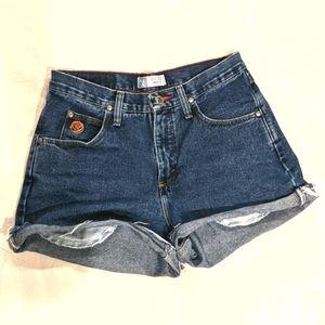 Vintage Wrangler Jean Cutoff Shorts